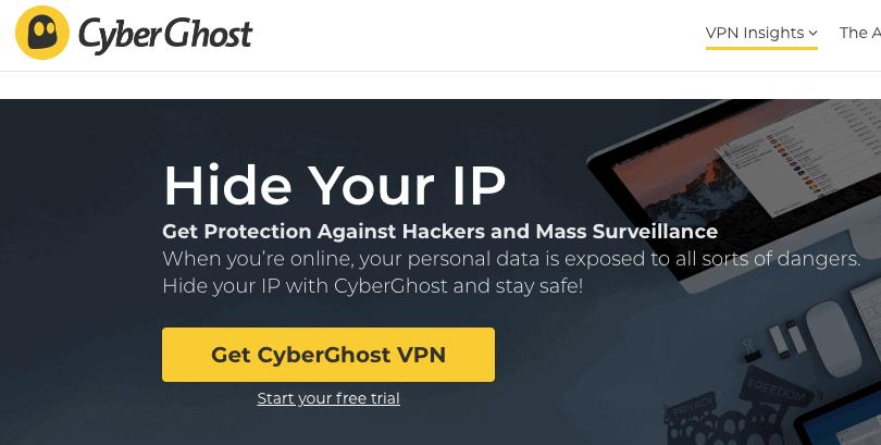 CyberGhost VPN Service