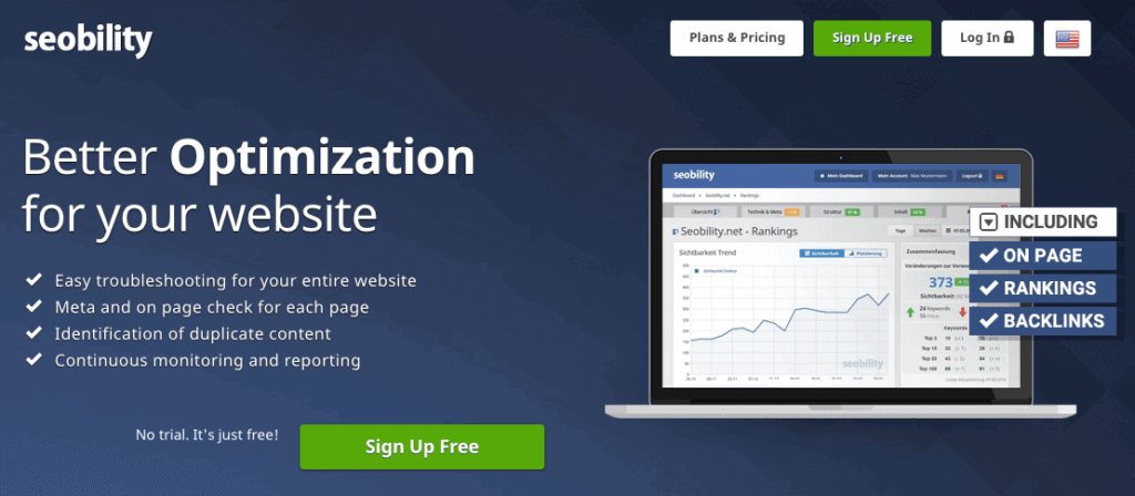 Seobility is an all-in-one SEO tool for better website optimization.