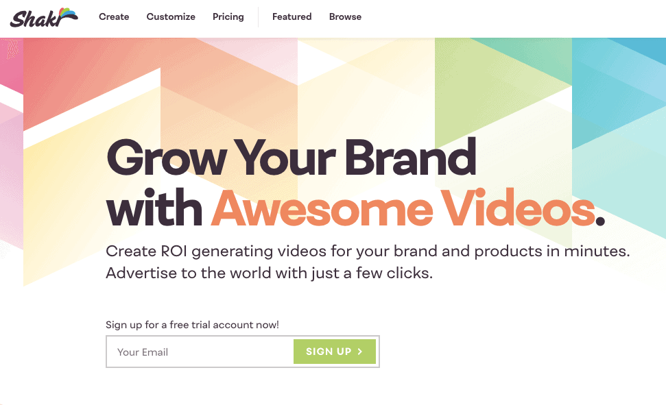 Shakr is an online video maker which allows you to create conversion-optimized videos for your social media channels.