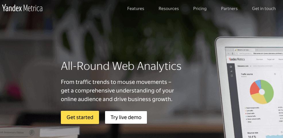 Yandex Metrica - SEO Tool