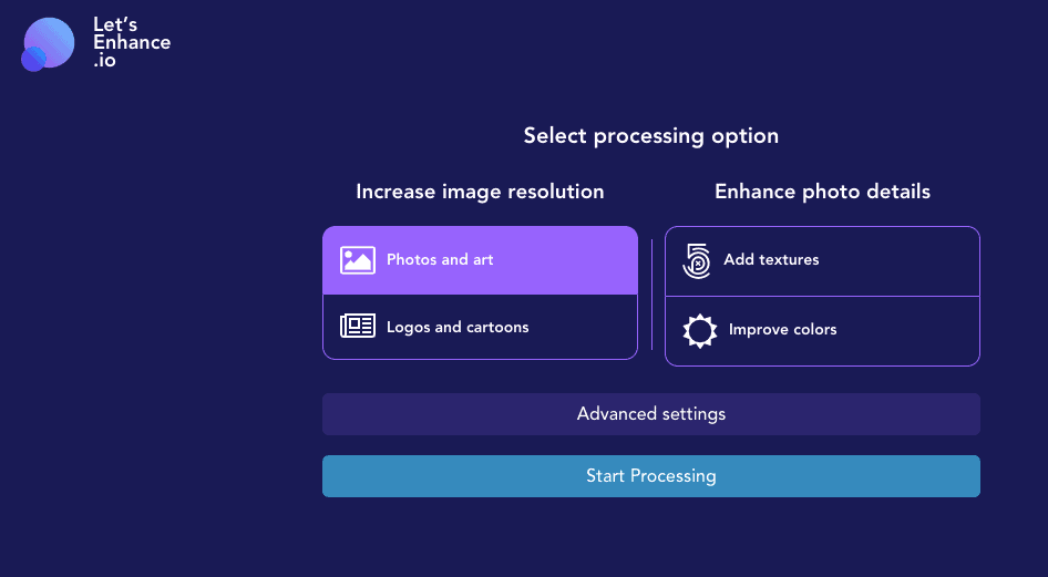 Let's Enhance is a free tool which lets you increase image quality and resolution.