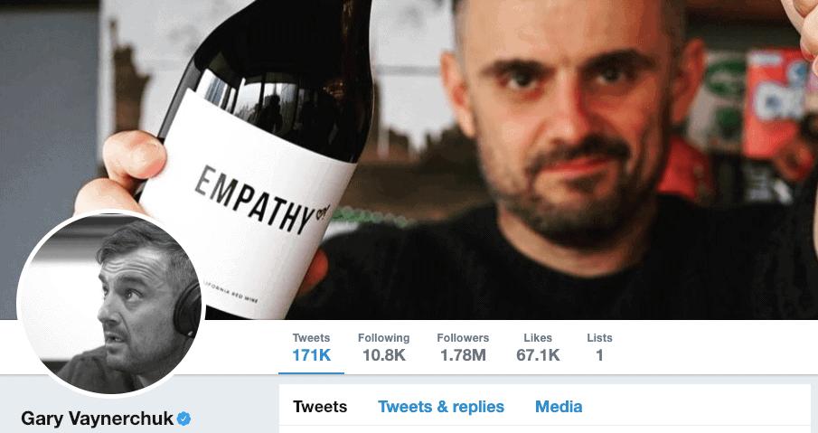 Gary Vaynerchuk on Twitter