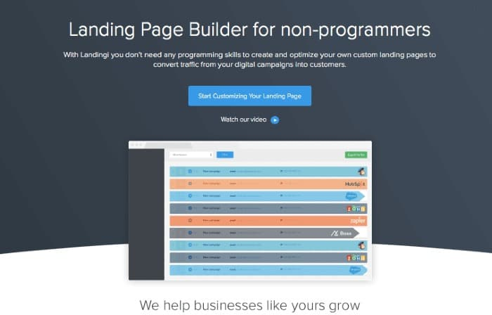 Landingi - Blogging Tools