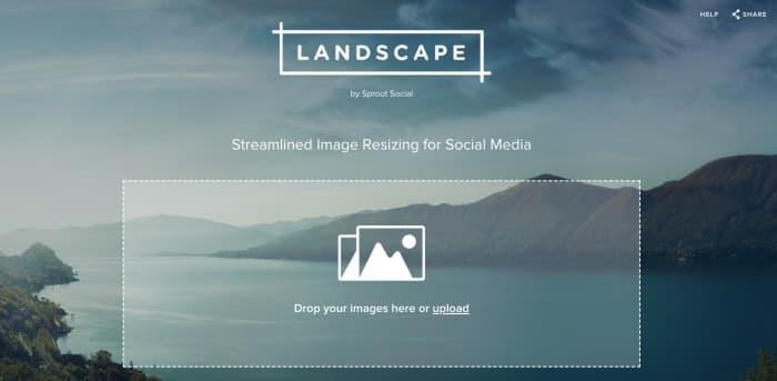 Landscape - Image Resize Tool