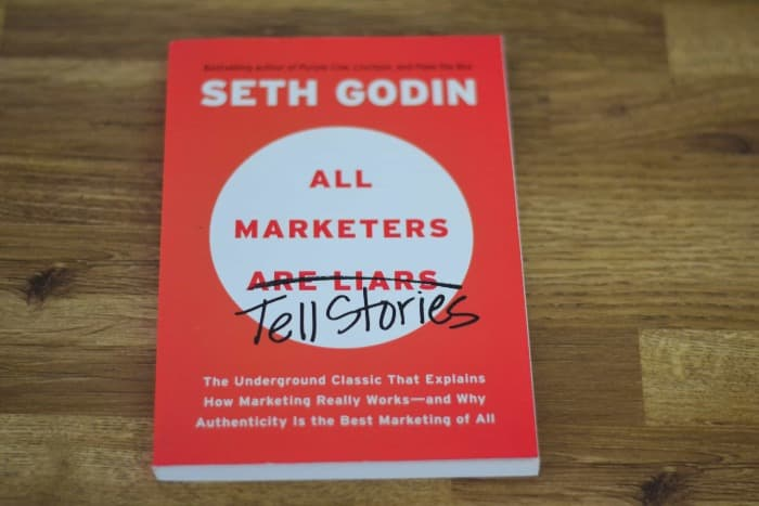 Seth Godin's Book All Marketers Tell Stories