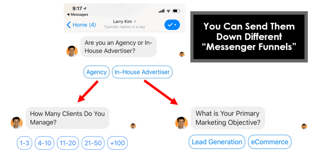 FB Messenger Chatbot MobileMonkey