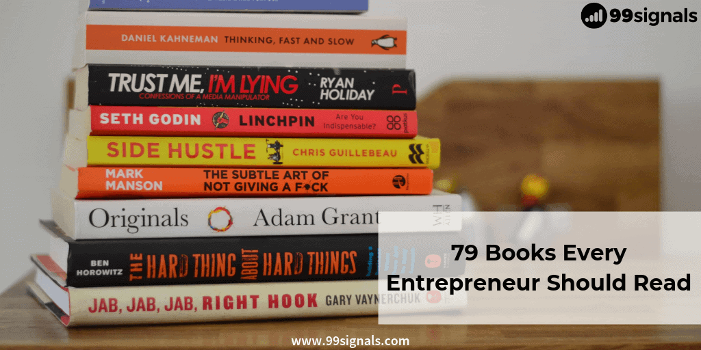 Best Books for Entrepreneurs: 79 Books Every Entrepreneur Should Read